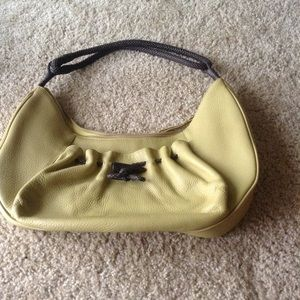 NEW LISTING gorgeous pebbled leather bag